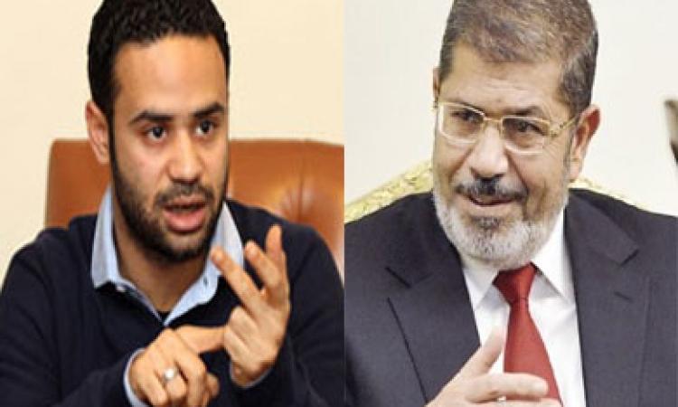 محمود بدر: مرسي «مريض نفسيا.. ويجب علاجه قبل محاكمته»