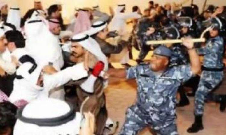 الشرطة الكويتية تفرق مظاهرة تطالب بالإفراج عن سياسي معارض