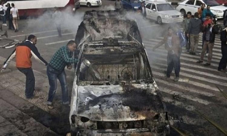 المعاينة الأولية لحادث الصف : مطب وراء انفجار السيارة