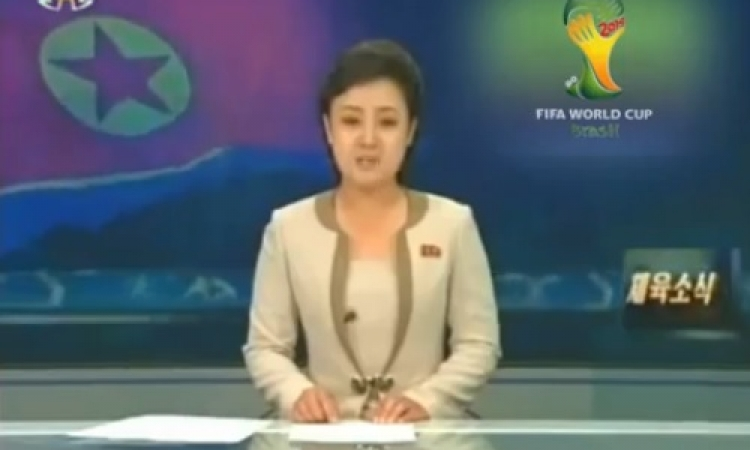 بالفيديو .. تلفزيون كوريا الشمالية يعلن بلوغها نهائي مونديال البرازيل !!