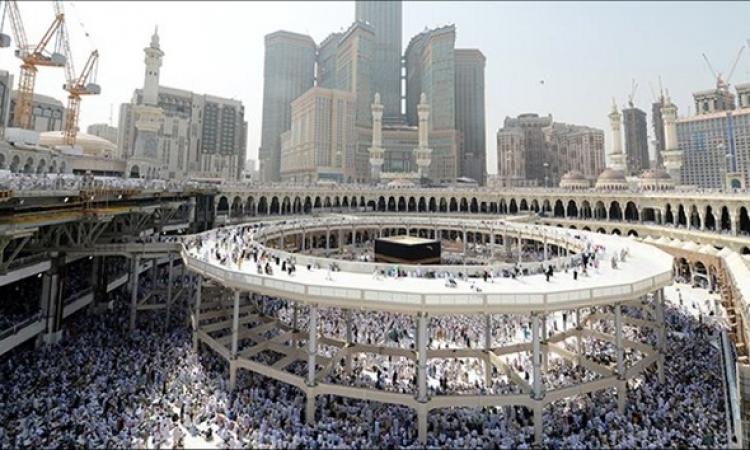 أعمال توسعة بالحرم المكي لاستيعاب 400 ألف مصل في رمضان