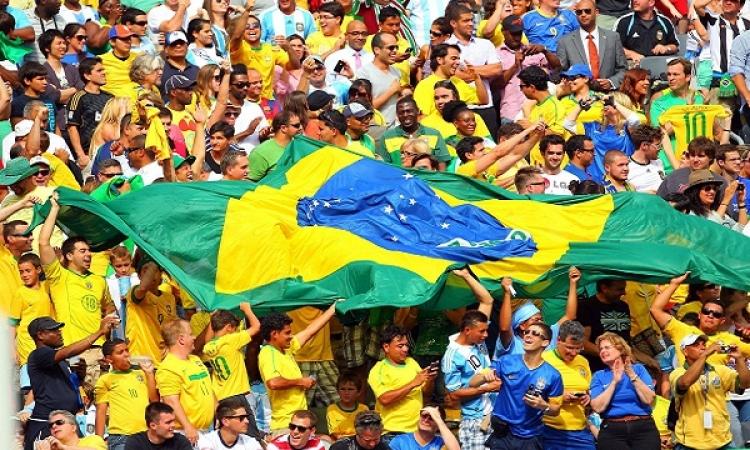 مونديال البرازيل يسجل ثاني أكبر حضور جماهيري بعد مونديال أمريكا