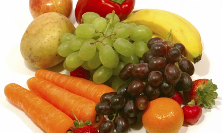 الخضروات والفاكهة لا تفيد في تخفيف الوزن