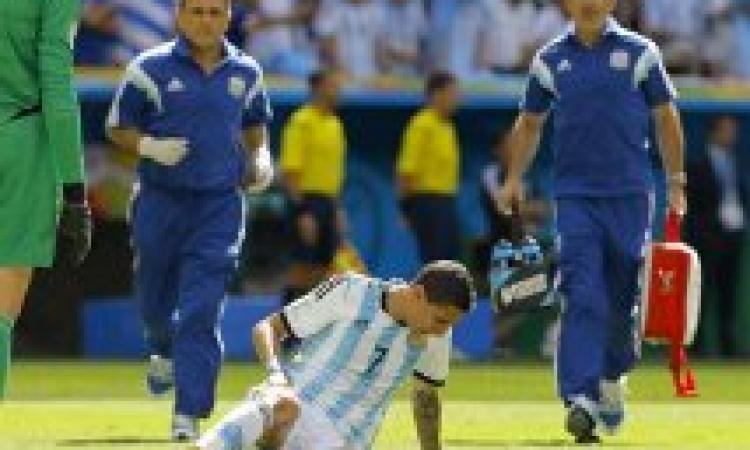 الأرجنتين تفتقد جهود جناحها الطائر باقي منافسات المونديال