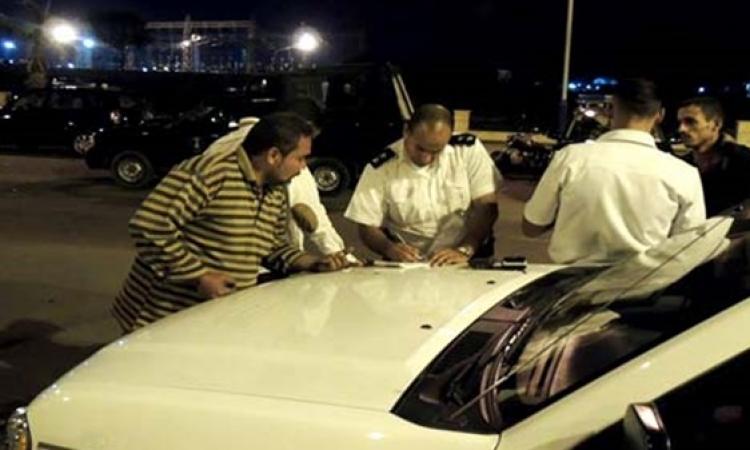 ضبط 77 مشتبها فيهم و27 مطلوبا و285 مخالفة مرورية في شمال سيناء