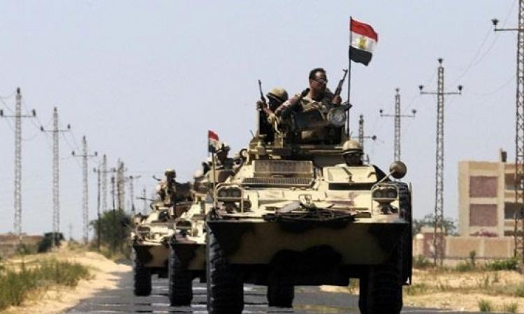 الجيش يعلن مقتل إرهابيين وتصفية بؤرة إرهابية خطيرة بوسط سيناء