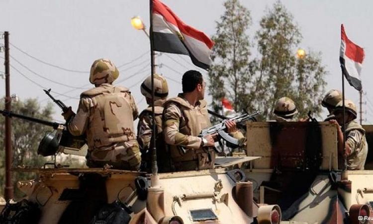 الجيش يفجر صاروخين وعربتين مفخختين لعناصر تكفيرية جنوب الشيخ زويد