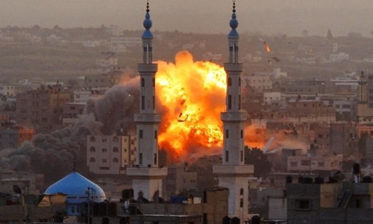 قصف إسرائيلي مكثف لغزة بعد العثور على جثث شبان اسرائيليين مخطوفين
