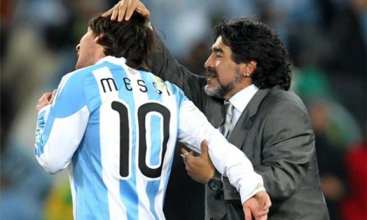 مارادونا: ميسي لا يستحق الكرة الذهبية للمونديال