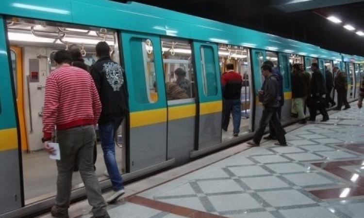 عودة حركة القطارات بالخط الثاني للمترو بعد إصلاح العطل الكهربائي