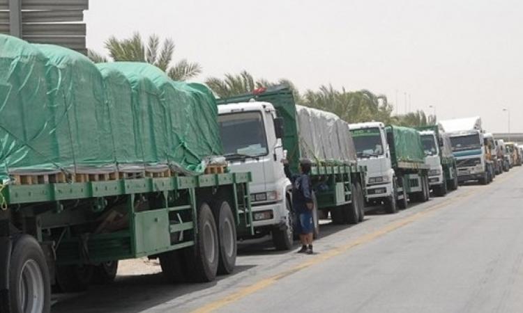 منع دخول الشاحنات المصرية لليبيا بدءا من الجمعة بسبب الأوضاع الأمنية