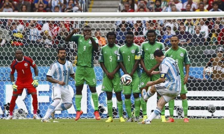 5 صور تلخص إبداعات ميسي في كأس العالم 2014