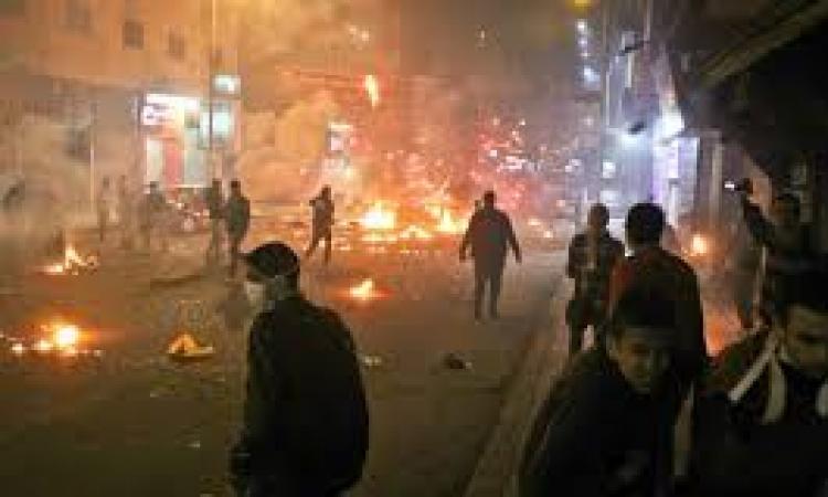 الأمن يعزز من تواجده بجامعة الدول ويفرق مسيرة الإخوان بالهرم