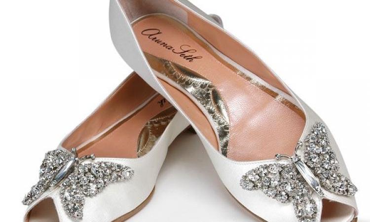 حذاء الـ«الباليرينا »  موضة لعروس 2014