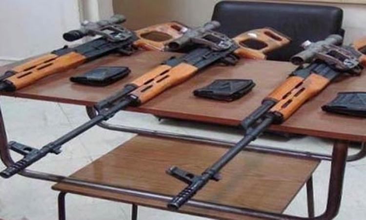 «الجعافرة» تسلم 10 بنادق آلية غير مرخصة للشرطة بالقليوبية
