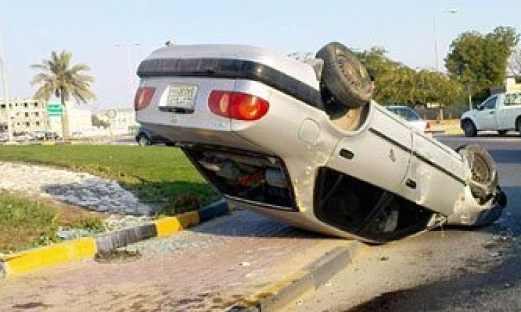 مصرع وإصابة 6 أشخاص من أسرة واحدة في حادث انقلاب سيارة بسوهاج