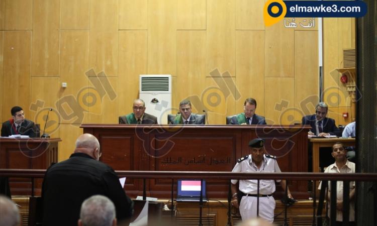محاكمة البلتاجي وصفوت حجازي واخريين في تعذيب ضابط داخل رابعة العدوية