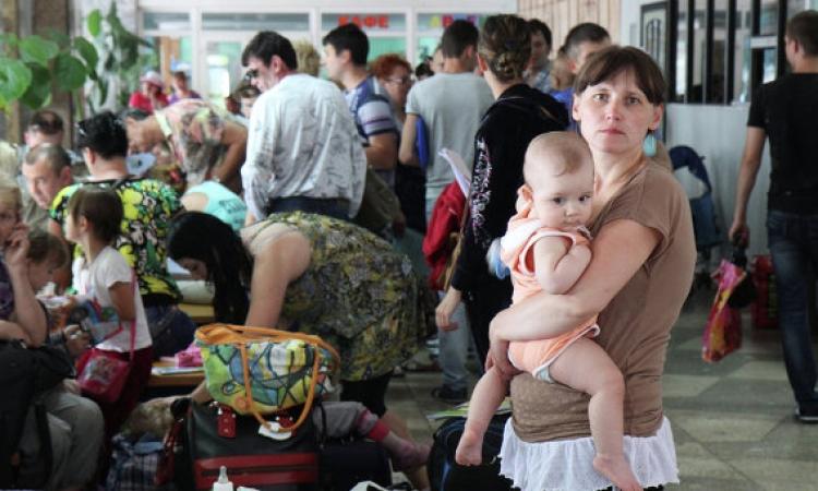 روسيا: عدد اللاجئين الأوكرانيين لدينا تجاوز 21 ألف شخص