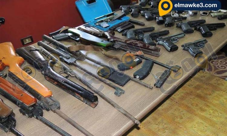 بالصور.. صاحب ورشة خراطة يحول منزله لوكر لتصنيع الاسلحة النارية بالبحيرة