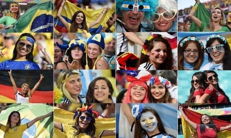 بالصور … المربع الذهبي بكأس العالم للكبار فقط
