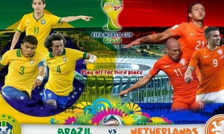 بث مباشر … البرازيل وهولندا في لقاء المركز الثالث