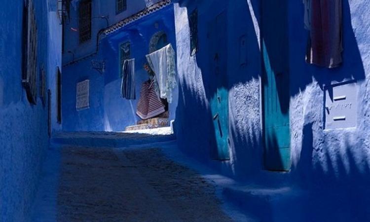 شفشاون .. مدينة مغربية جميع جدرانها زرقاء