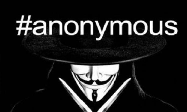 انفراد للموقع نيوز .. هاكرز Anonymous يخترقون 12 موقعا حكوميا مصريا بسبب أحداث غزة