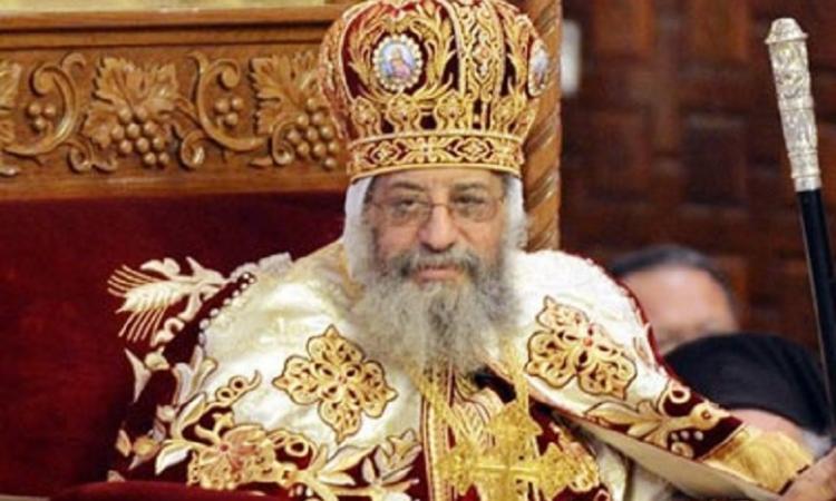 البابا تواضروس : لقاء السيسي مع رؤساء الكنائس تأكيد على روح المواطنة