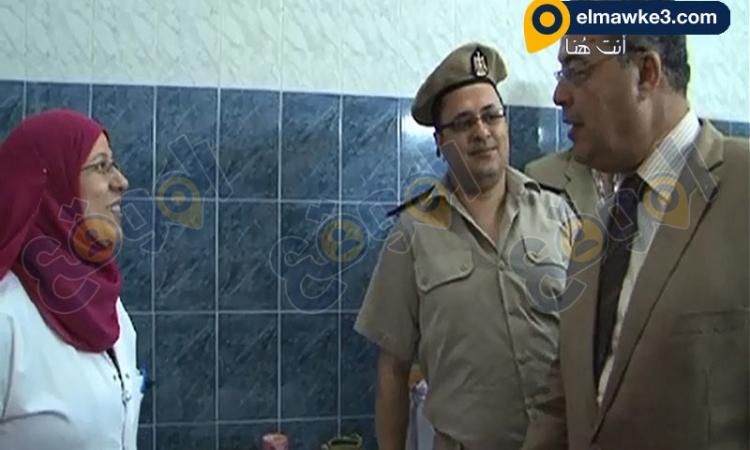 أعضاء المجلس القومى لحقوق الإنسان يقوم بزيارة لسجن النساء بالقناطر