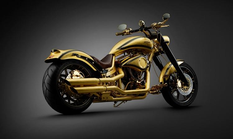 بالصور.. أغلى دراجة فى العالم من بالذهب ثمنها حوالى 900 ألف دولار