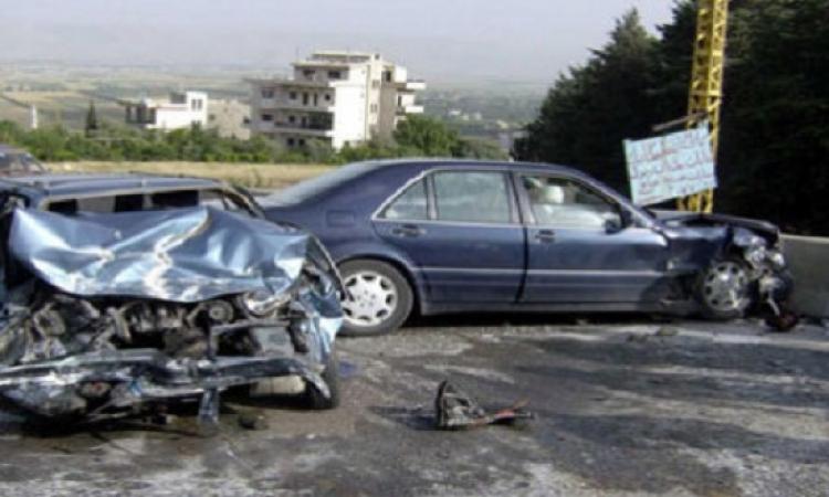 حادث تصادم على الطريق الدائرى يؤدى لمصرع 3 و إصابة 7
