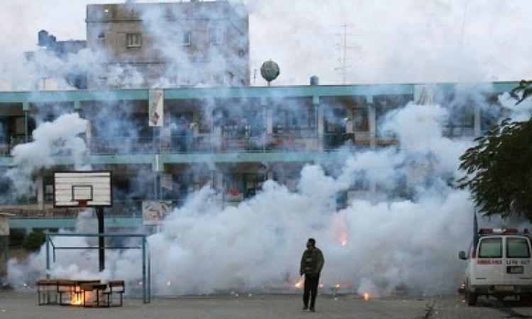 سفير مصر بفلسطين يدين قصف الجيش الاسرائيلي مدرسة الأونروا برفح
