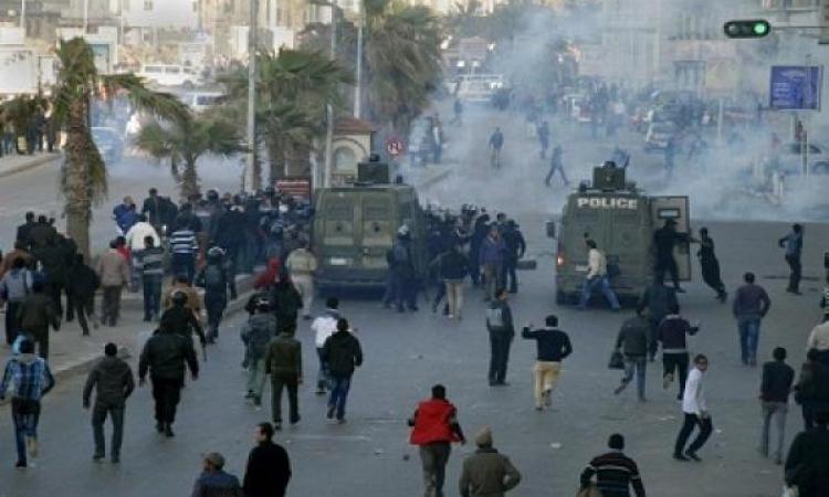 أمن الإسكندرية يفرق مسيرة للإخوان بالمنتزة ويضبط 7 من المشاركين فيها