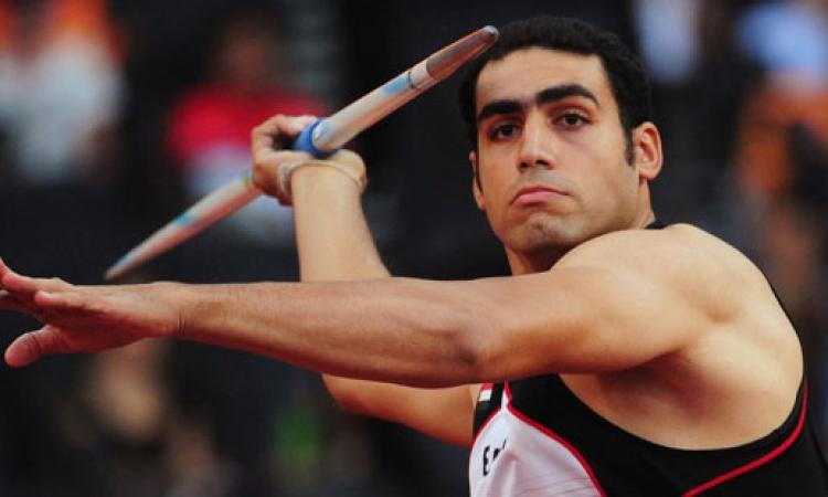 إيهاب عبد الرحمن يفوز بفضية رمي الرمح في بطولة إفريقيا لألعاب القوى