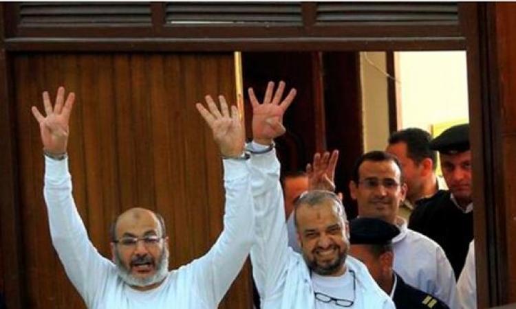 الجنايات تستمع اليوم لدفاع البلتاجى وحجازى فى قضية تعذيب ضابط رابعة