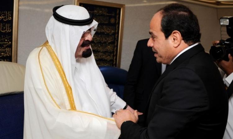 السيسي يبدأ اليوم زيارة إلى السعودية للقاء خادم الحرمين الشريفين