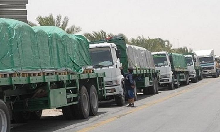 استئناف حركة الشاحنات بكافة أنواعها بين مصر وليبيا
