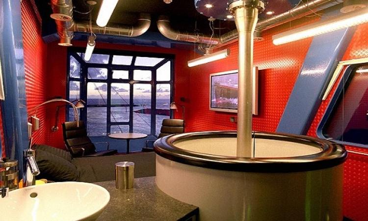 بالفيديو والصور .. تحويل رافعة بناء بامستردام إلى فندق فاخر 5 نجوم