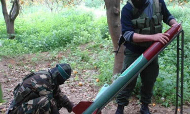 القسام تقصف تل أبيب بالصواريخ .. والقبة الحديدية تعترضها