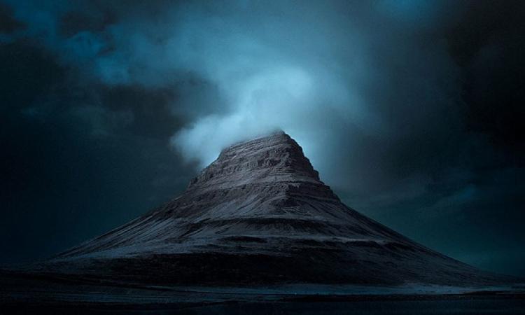 شاهد صور ايسلندا الزرقاء .. بتقنية الاشعة تحت الحمراء !!