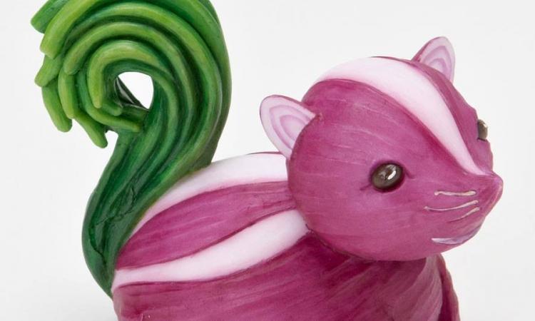 بالصور… حيوانات من الخضر والفاكهة