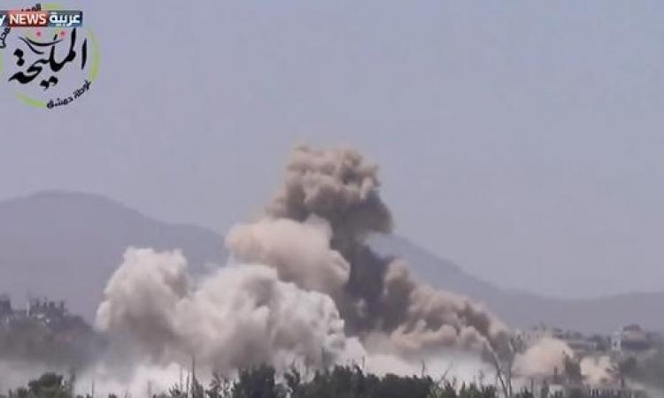 القوات السورية تحقق تقدما نوعيا ببلدة المليحة الاستراتيجية