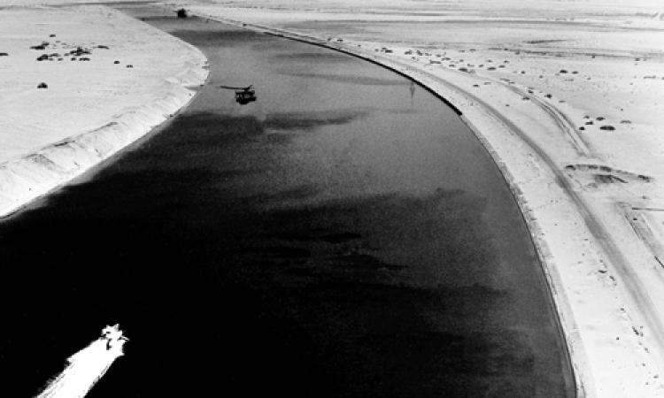 بالصور… لقطات نادرة لقناة السويس