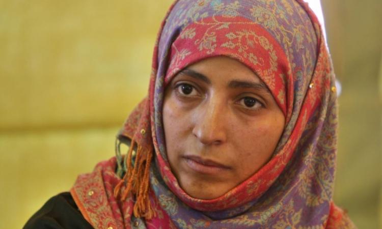 توكل كرمان تهاجم عبد الله صالح وتصفه بالمخلوع المدمر للوطن