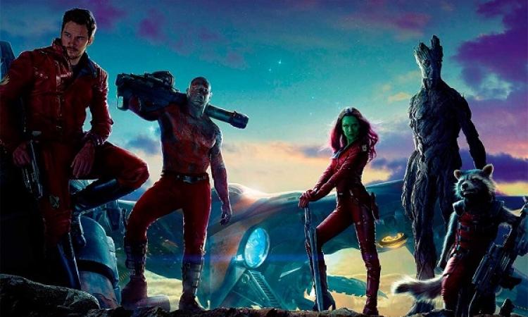 Guardians of the Galaxy يواصلون تصدر شباك التذاكر الأمريكي
