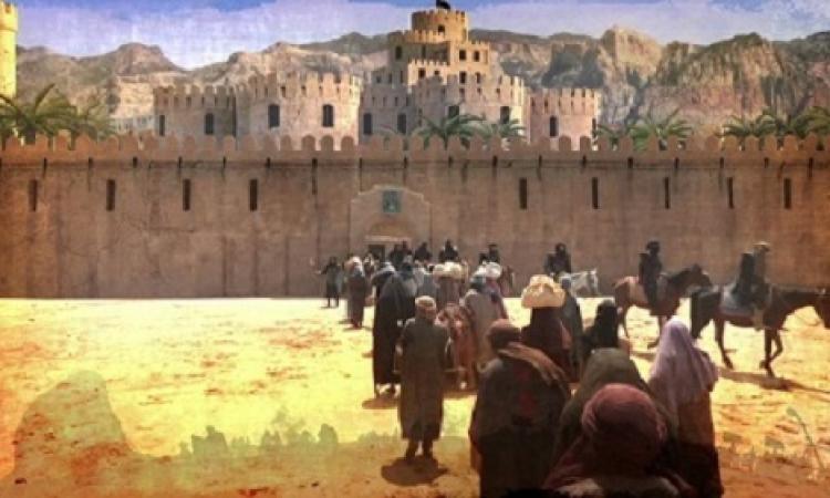 غزوة بني قريظة .. وحكم بن معاذ باعدام اليهود !!