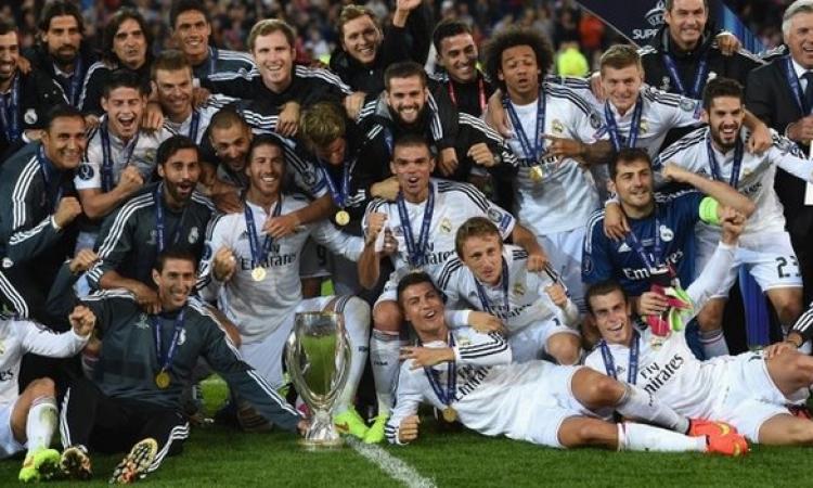 بالفيديو: ريال مدريد يفوز بالسوبر الأوروبي بهدفين لرونالدو