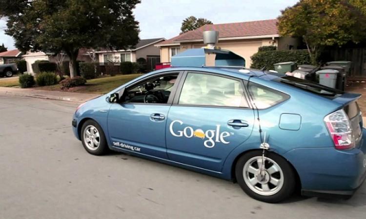 اختبار قيادة لسيارة جوجل التى تعمل بدون سائق