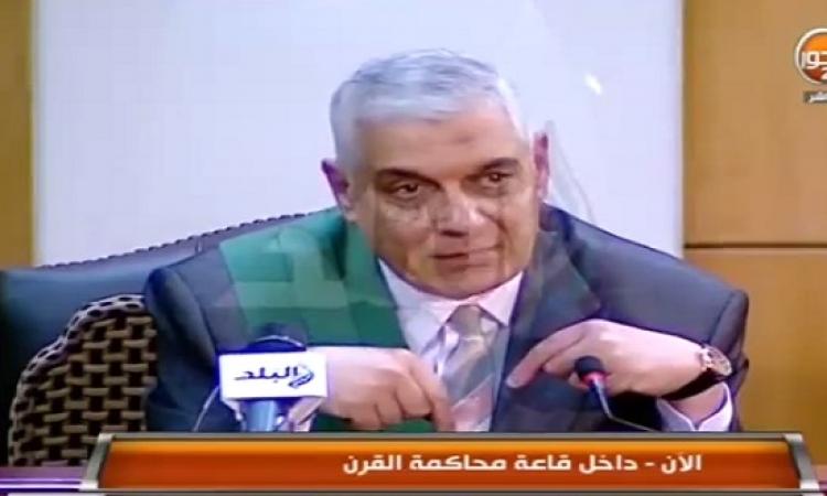 بالفيديو .. المحكمة توافق على تحدث مبارك من داخل القفص بناء على طلب نجليه علاء وجمال