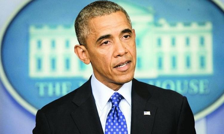 أوباما : سنواصل دعم جهود مصر لوقف إطلاق النار في غزة